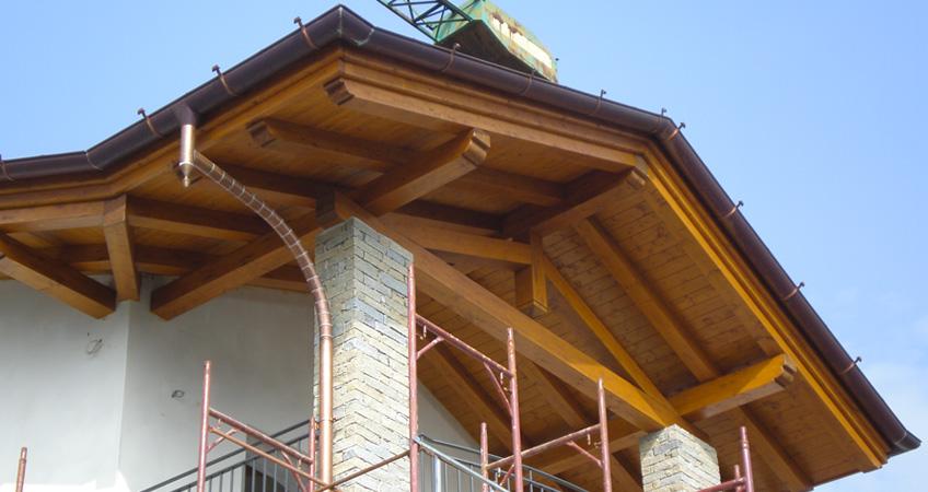 Produttori tetti in legno