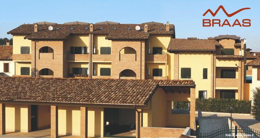Materiale per edilizia, vendita tegole in cotto Braas a Domodossola e Verbania | Domus Legnami
