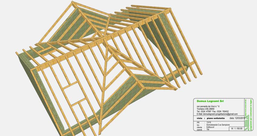 Progettazione tetti in legno e mansarde Domodossola | Domus Legnami